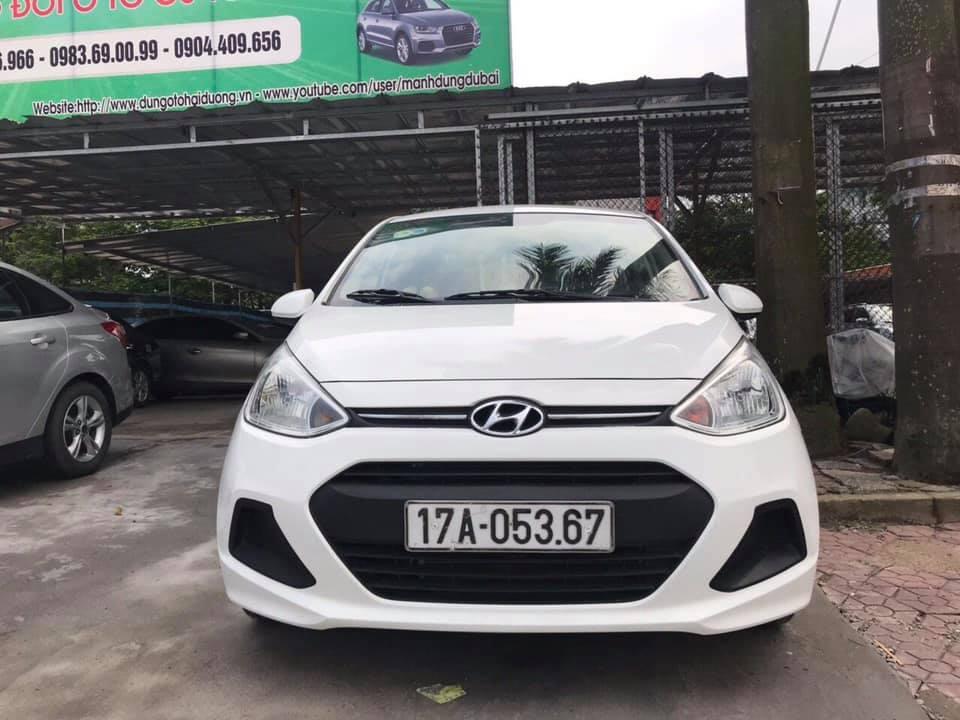 Hyundai i10 sedan - Nhập khẩu 2015 đăng ký 2016