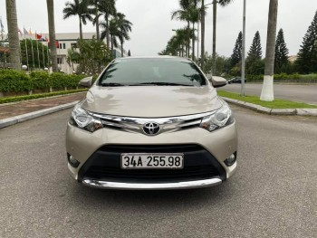 Toyota vios 2016 G số tự động