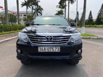 Toyota fortuner sản xuất 2012 std 2.7 máy xăng